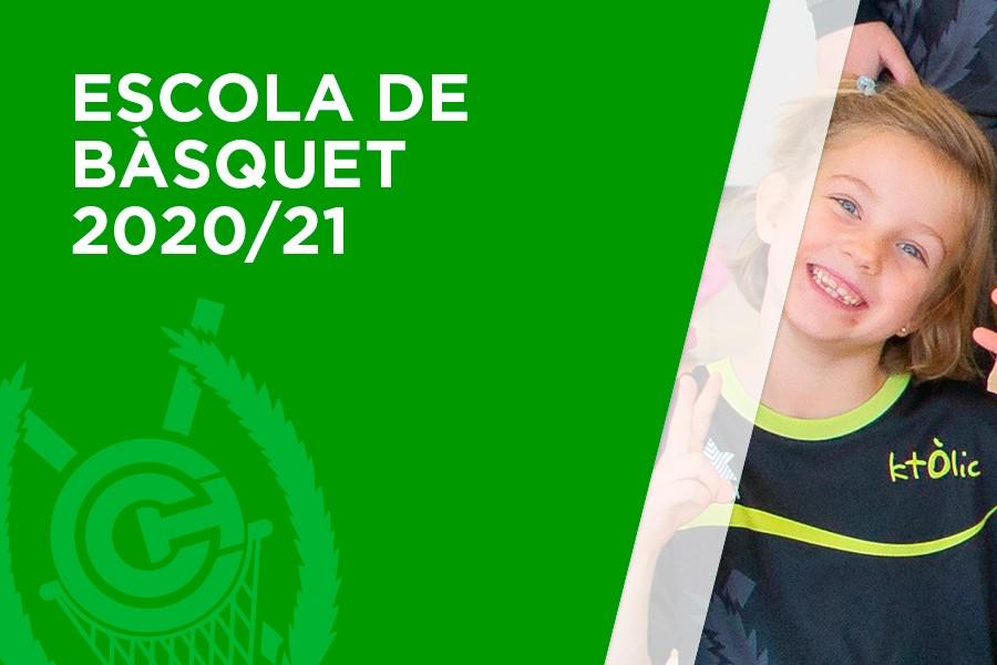 Escola de Bàsquet 2020-2021